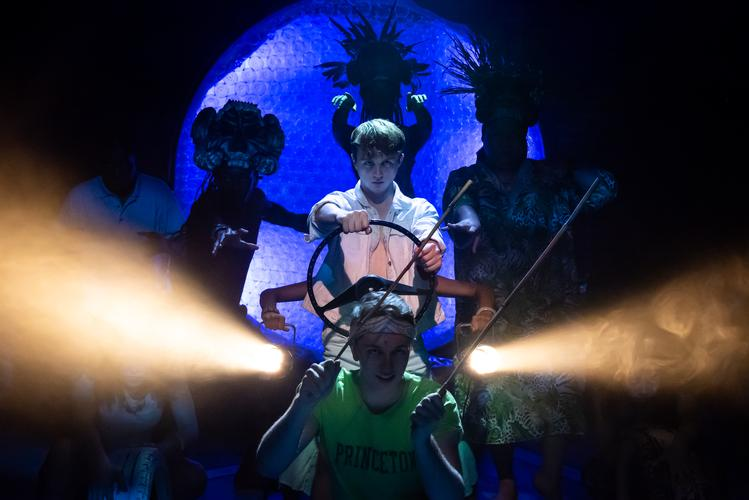 Once on this island - Review - Southwark Playhouse Under the sizzling sun of the Caribbean