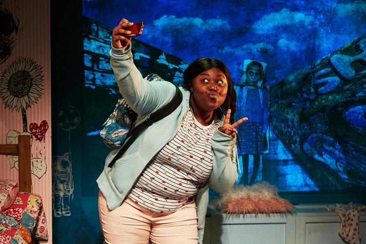 Random Selfies – Review – Ovalhouse Being a young girl in a big city can be hard sometimes...