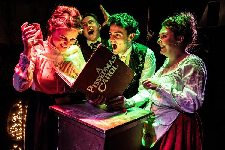 A Pissedmas Carol - Review - Leicester Square theatre The all singing, all drinking alternative Christmas knees-up