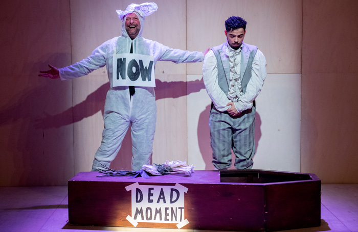 The Show In Which Hopefully Nothing Happens - Review - Unicorn Theatre How boring theatre can be?