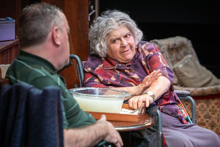 Sydney & The Old Girl - Review - Park Theatre Eugene O'Hare's black comedy gets its premiere at the Park Theatre