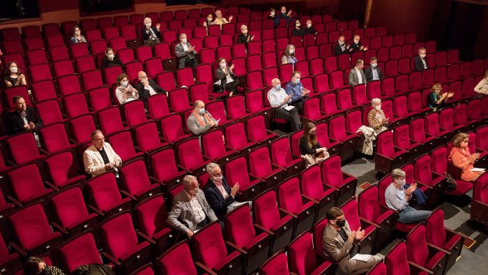 Live Theatre? Maybe next year - News The Culture Secretary spoke to the BBC