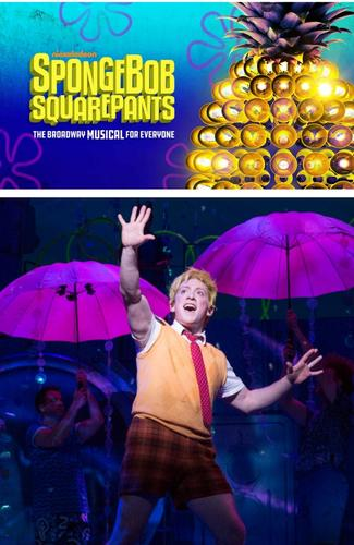 SpongeBob SquarePants The Musical - Review - Palace Theatre The Broadway musical with 12 Tony Award Nominations