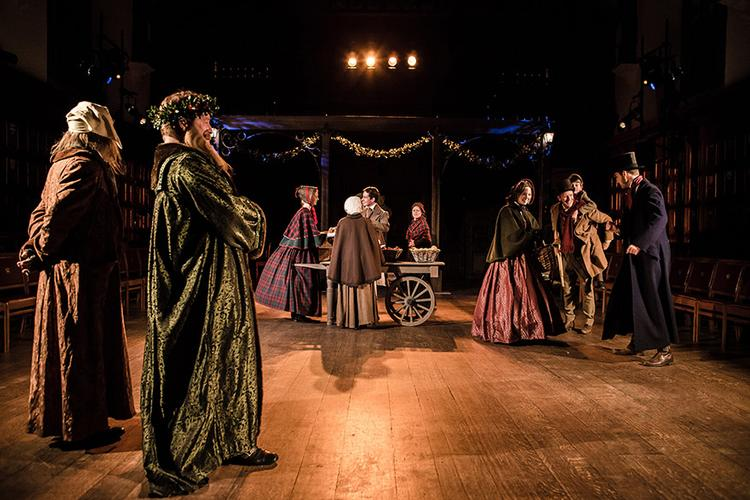 A Christmas Carol - Review - Middle Temple Hall The classic tale is brought to life in the magnificent historical London setting