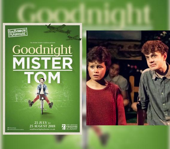 Goodnight Mr Tom - Review - Southwark Playhouse The moving novel set during the Second World War