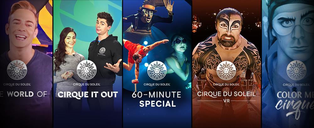 Cirque du Soleil Stream for free - News Cirque Du Soleil create free online content
