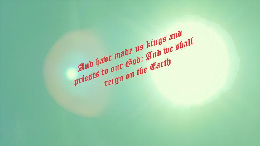 Glorification This passage of Scripture,