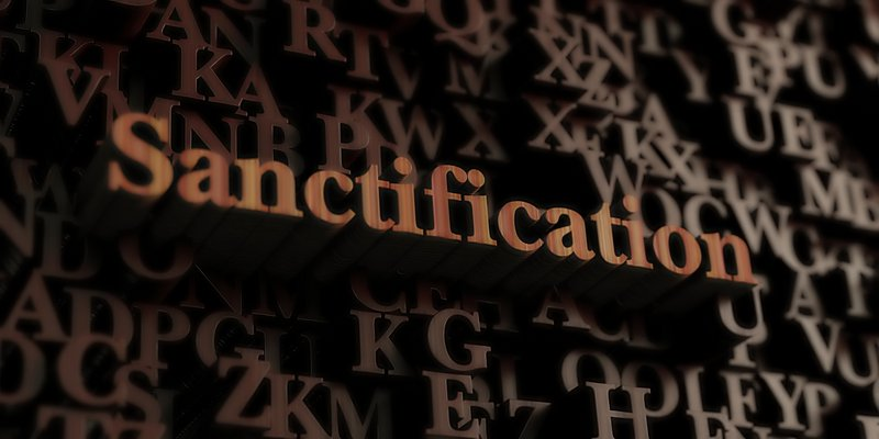 Sanctification Sanctification is a process by which we change in character, from the inside out, from our old ways of life into a new man. Empowered by the Spirit of God, we develop the personality of God within us, growing also in wisdom, knowledge and understanding of the truth but not limited to these.