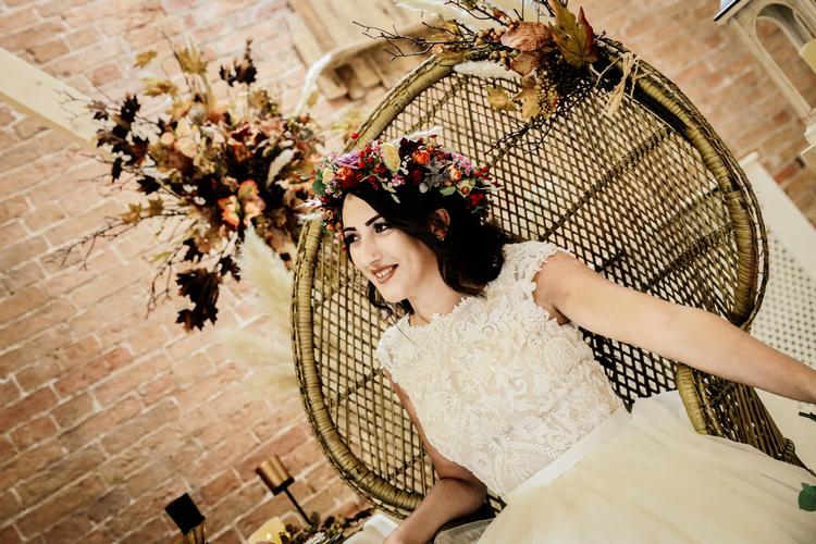 Boho Wedding Styled Photo Shoot with Bride Beautiful at Elsham Hall Boho inspired wedding photo shoot at rustic North Lincolnshire wedding venue - Bride Beautiful at Elsham Hall