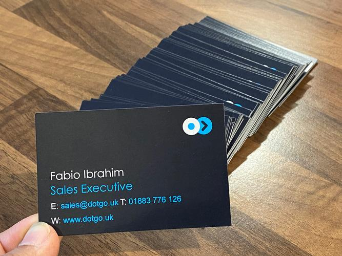 DotGO's Office Return Last week Boris Johnson has announced that a level of normality will resume starting on July 4th, so with restrictions being eased, I've had some business cards printed in preparation.