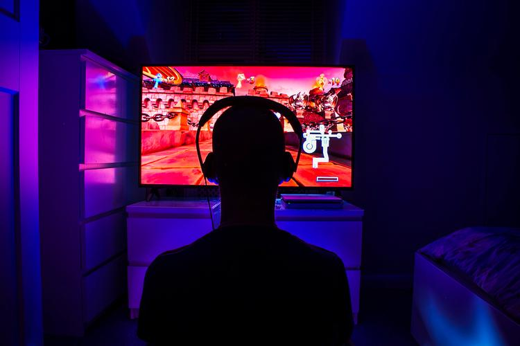 Mental Health Awareness Week - Gaming Working from home: Day 43. Mental Health Awareness Week - Gaming - A photo series taken during the lockdown of COVID-19.