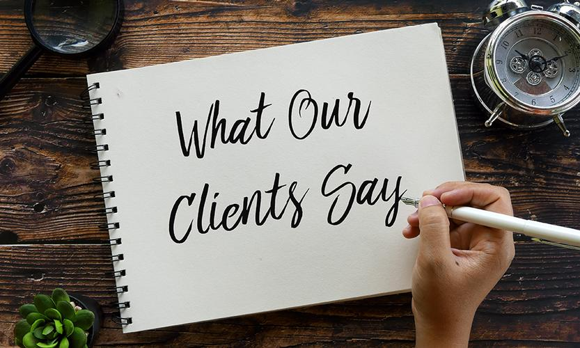 The benefits of having customer testimonials on your business website Customer testimonials will highlight the positive experiences that your customers have had when dealing with your business.