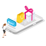 Ecommerce webshop Simple to build, manage and use