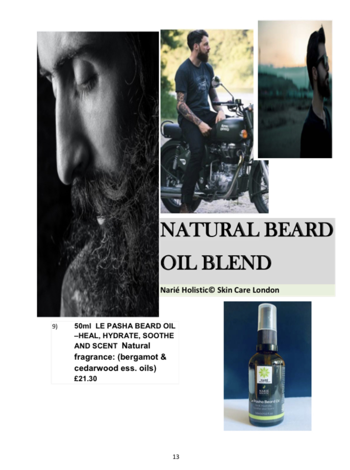 Le Pasha Beard Oil
