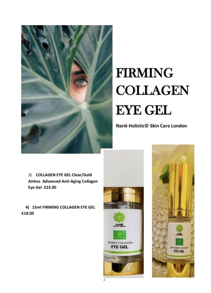 15ml Collagen  Eye Gel Advanced Anti-Aging Collagen Eye Gel