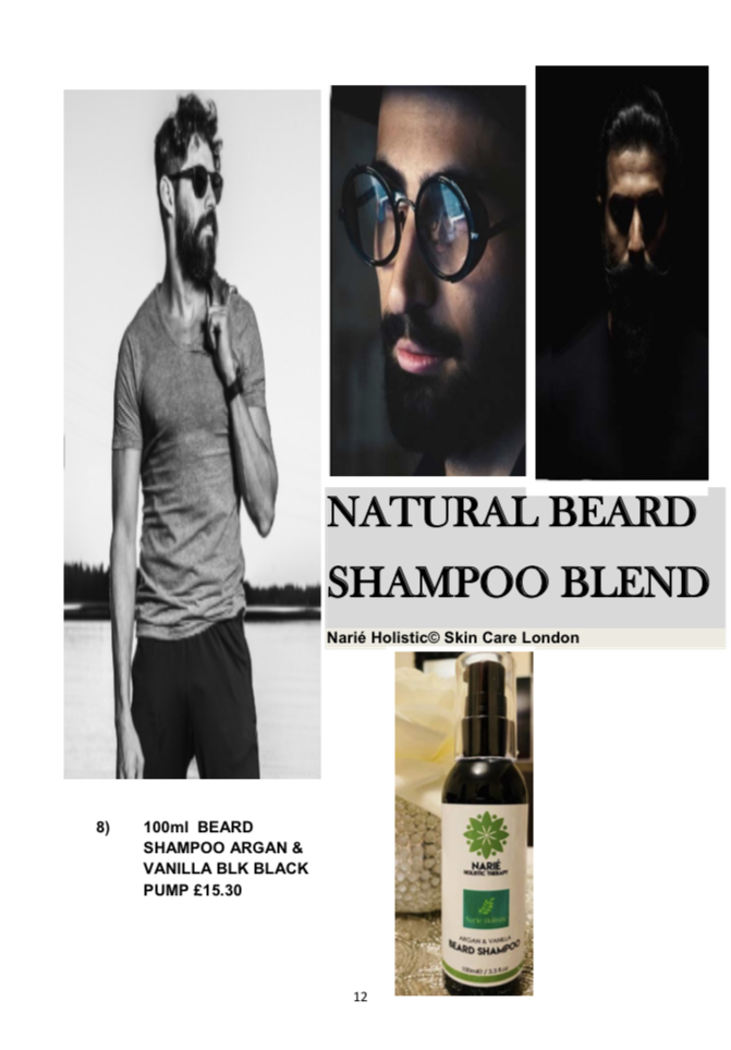100ml Beard Shampoo