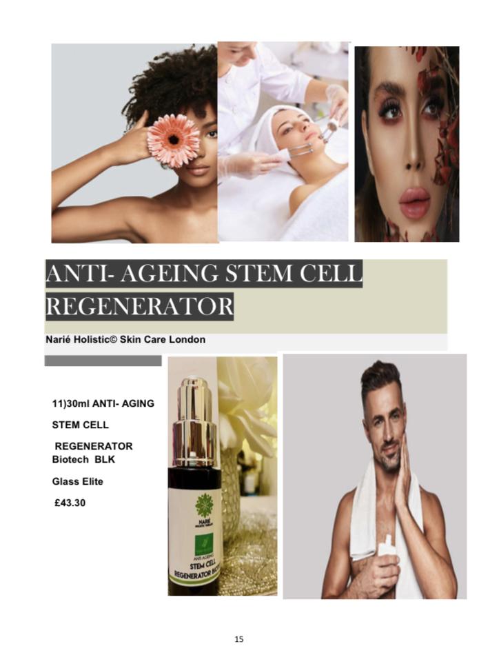 30ml Anti-Aging Stem Cell Regenerator Biotech