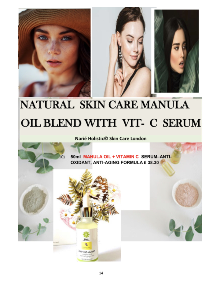 MANULA OIL WITH VIT-C Serum