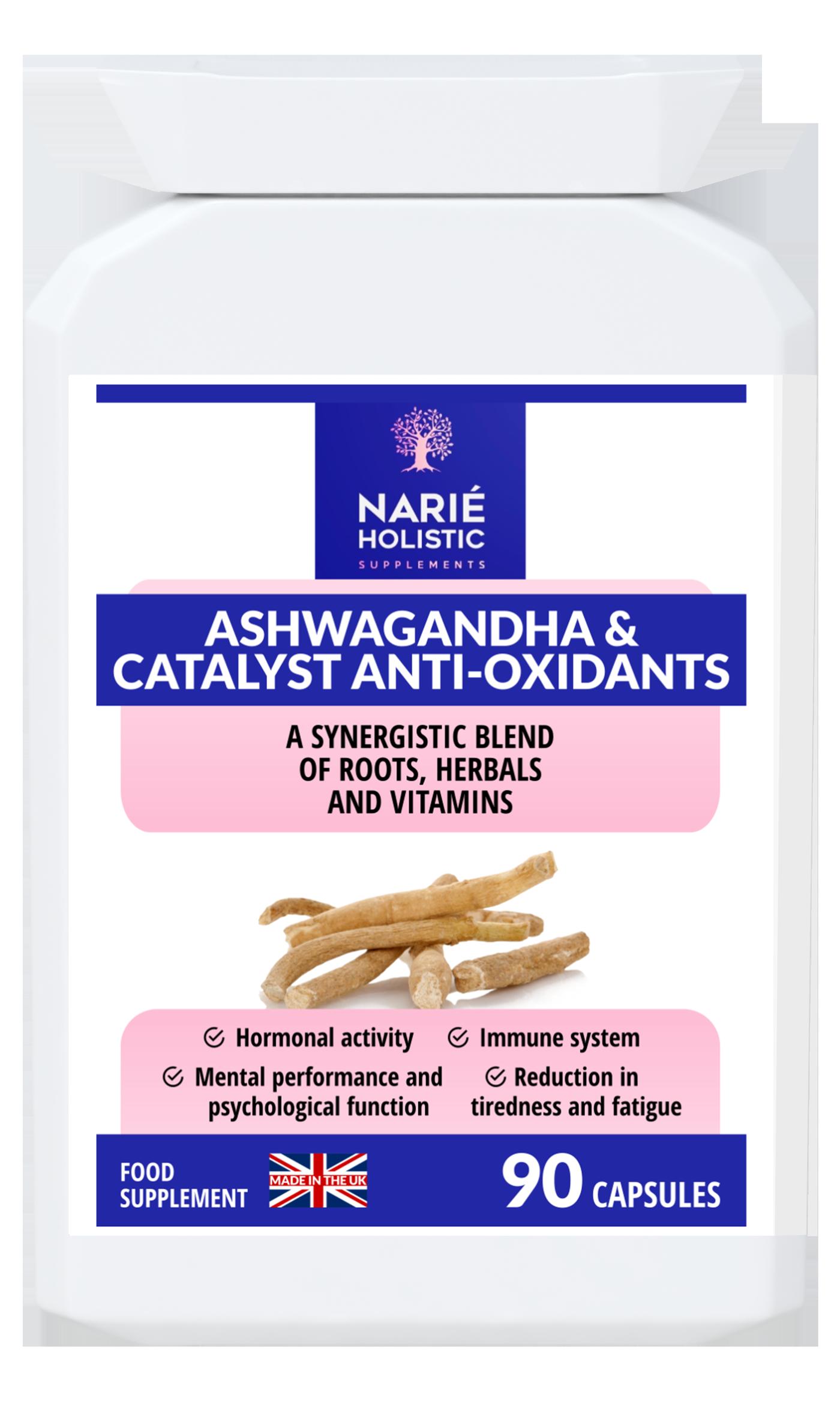 Ashwaganha &  Catalyst Anti-Oxidants