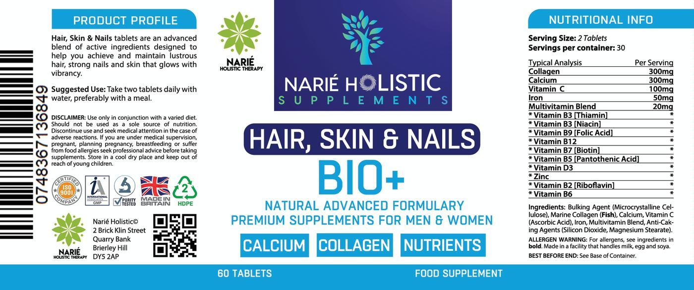 Hair, Skin & Nails with BIO+