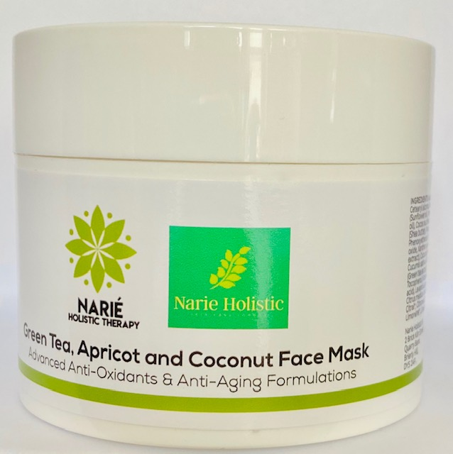 Green Tea, Apricot And Coconut Face Mask