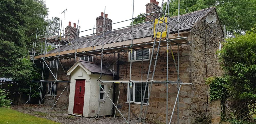 Property survey carried out and repair work undertaken. Property survey carried out and repair work undertaken.