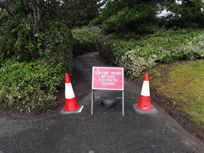 Structural survey to closed footpath due to Health & Safety risk. Structural survey to closed footpath due to Health & Safety risk.
