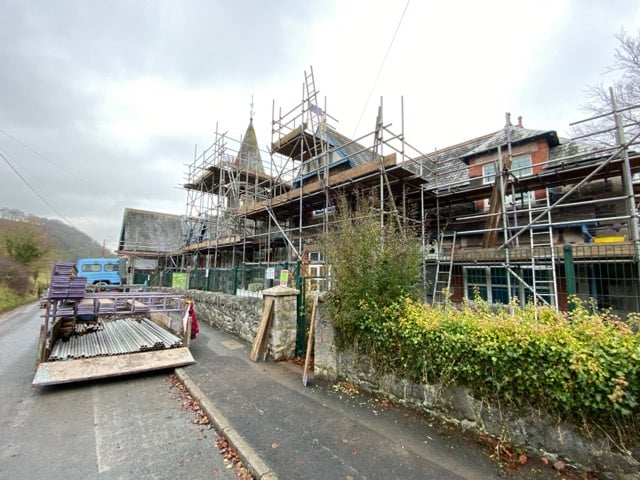 Large maintenance contract secured and works underway on a primary school in North Wales. Large maintenance contract secured and works underway on a primary school in North Wales.