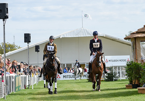Sir Shutterfly shone out in the stallion parade at Badminton Horse Trials Sir Shutterfly was ridden by Selina Milnes last week in the stallion parade at Badminton Horse Trials