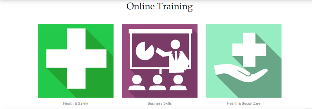 We have  wide range of engaging, fully accredited online courses in Health and Safety, Health and Social care and Business skills. Free trials are available on each course Discounts available for bulk orders