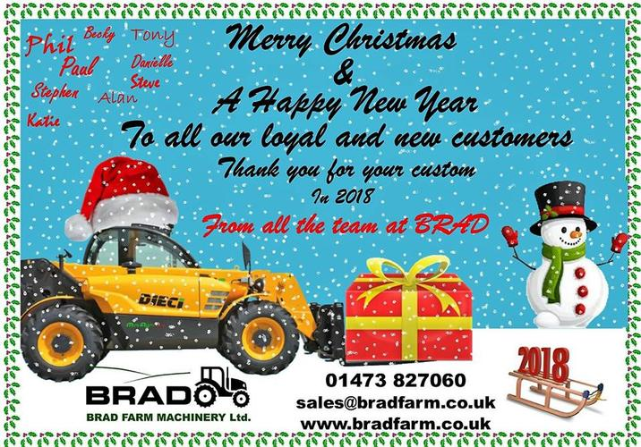 Happy Christmas to all our customers! See you in the New Year!