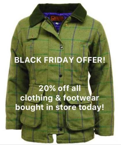 Black Friday Today! View our special offer!