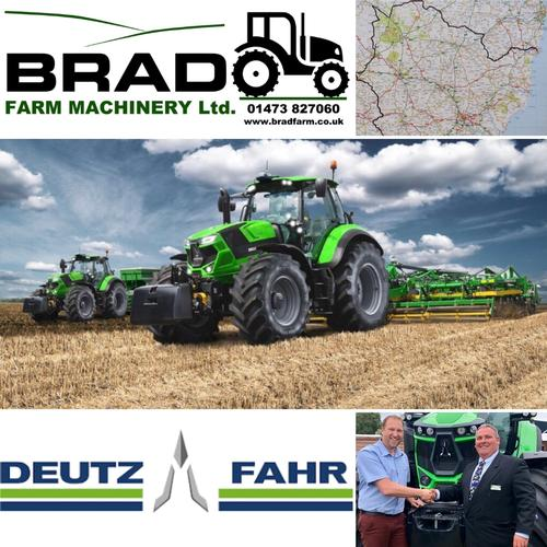 Brad Farm Machinery become the main dealer for Deutz-Fahr. We are delighted to have been appointed the principle dealer for Suffolk, South Norfolk and North Essex.