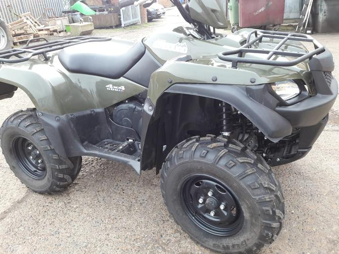 Suzuki King Quad AXI 500 cc 4x4 *** SOLD *** Perfect for all your off road needs.