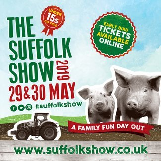Suffolk Show - Next Week! We're looking forward to seeing you at our stand.