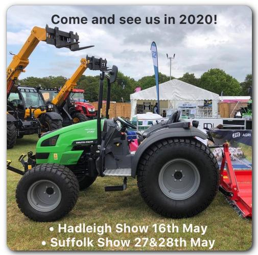 Hadleigh Show & Suffolk Show 2020 Come and see us in 2020