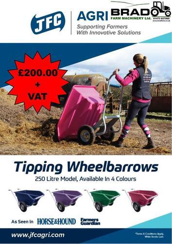 JFC Tipping Wheelbarrows £200.00 + VAT