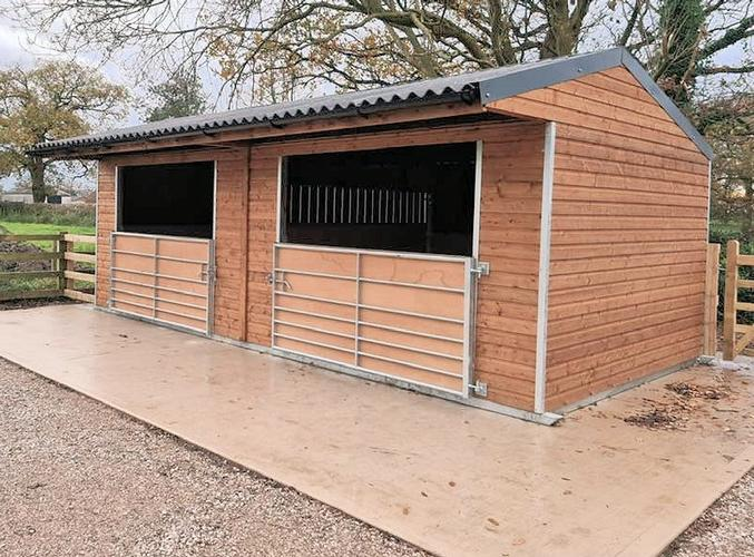 Sturdy Field Shelters Built to stand the test of time in all weathers