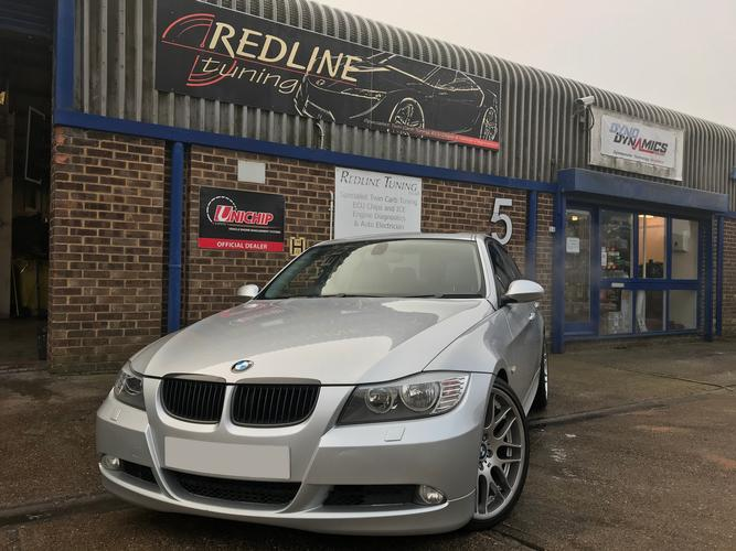 BMW E90 335i N54 twin turbo BMW 335i Twin turbo with 5 user selectable maps including pops, crackles and flaming over run. 15mph anti hijack map, high & low boost