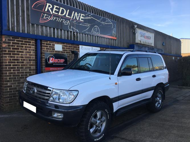 Toyota Landcruiser 4.2 (100 Series) 100 series Toyota Land Cruiser fitted with the 4.2td HD-FTE with 5 user selectable maps, high/low boost, throttle booster, towing, off road and anti theft/immobiliser map, also available in the U fit application.