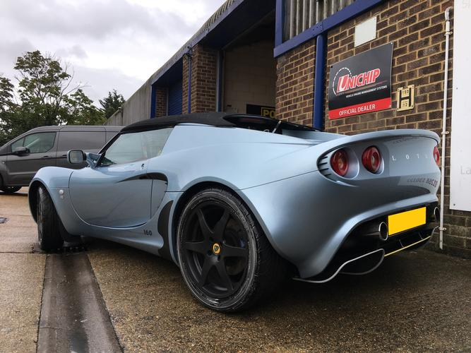 Lotus Elise S2 Now pushing 146 bhp with the help of the Unichip