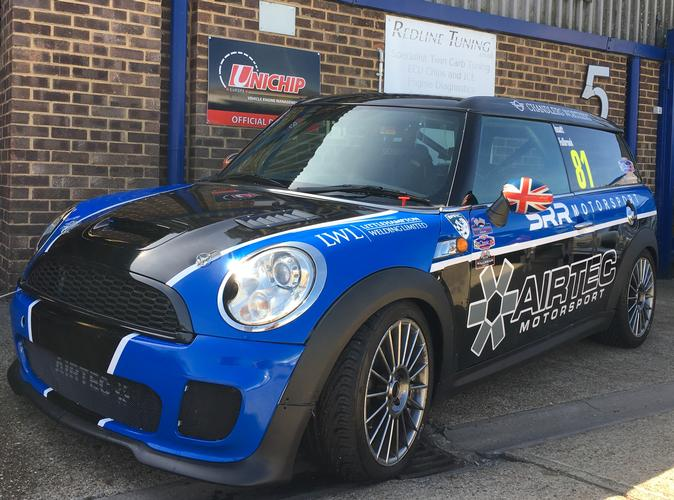 Mini Clubman R55 Cooper S Race Car The Unichip can also be used across the Motorsport world getting brilliant results