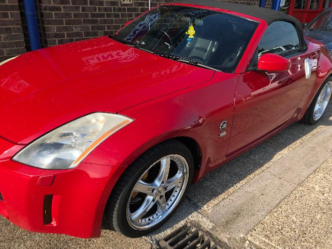 The Nissan 350Z Roadster. Keep the Z name alive! What could be better than having the roof down and hearing that V6 roar?