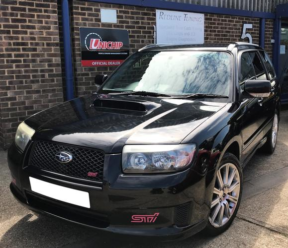 Subaru Forester STI +30% more power from a stock vehicle with 5 user switchable custom maps