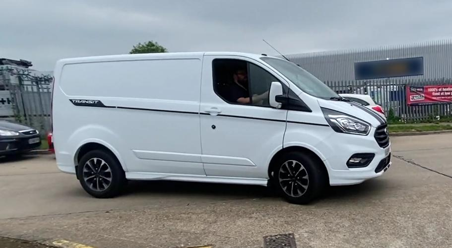 Ford Transit 2.0L Custom 310 Sport (2019) Ever wanted to drive a 400+ ft-lb producing Transit? Now you can.