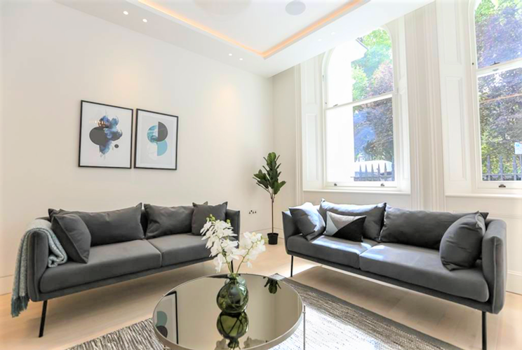 Shawn's Story - Our Interior Design Service Shawn was a landlord from overseas, who had two exclusive apartments in his London portfolio. One of these was located in the Notting Hill and was a two-bedroom luxury modern apartment that had been renovated from a 5-star hotel...