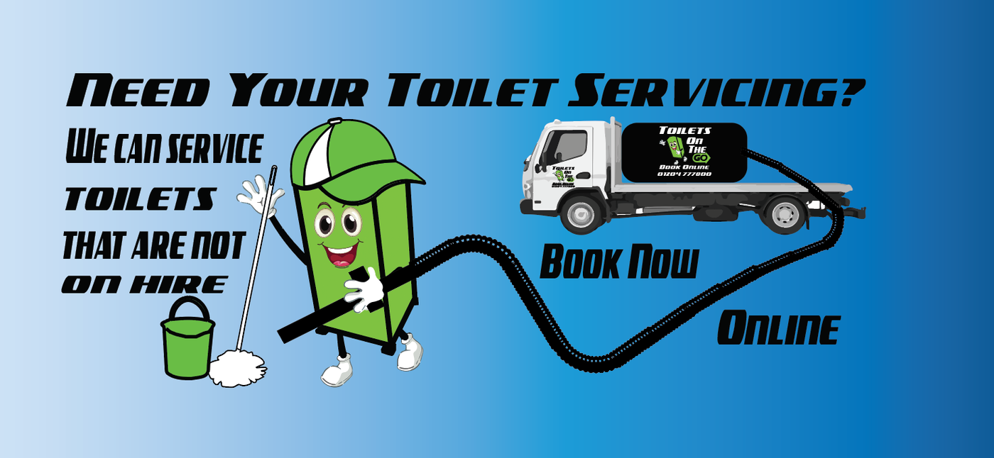 Your own toilet servicing by toilets on the go we will service any toilet in the north west