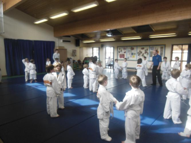 22nd June: Mini Grade (For Yellow w/s and Yellow Belts) 22nd June: Mini Grade for Yellow w/s and Yellow held at Charlton Kings Infant School, Cheltenham