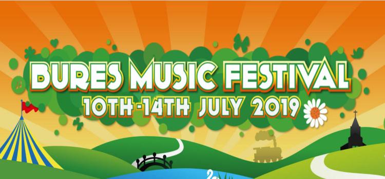 2019 Bures Music Festival! - Jul 10 at 7 PM – Jul 14 at 9 PM 2019 Bures Music Festival!  July 10 at 7 PM – July 14 at 9 PM