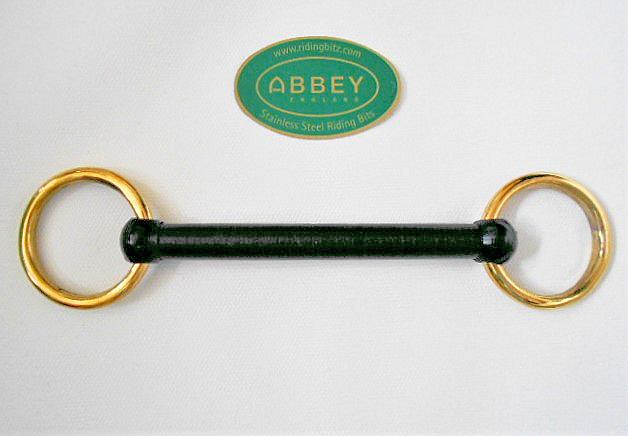 Brass Loose Ring, Nylon Mullen Mouth Bit